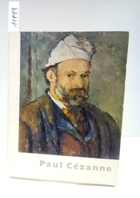Paul Cézanne. Ausstellungskatalog.: Anonym