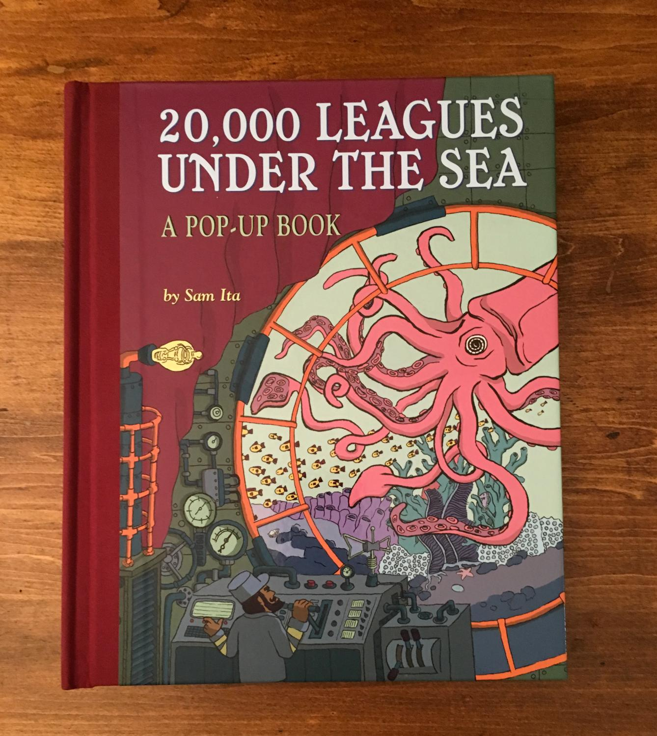 20 000 Leagues Under The Sea Pop Up By Jules Verne Sam Ita New Hardcover 2008 Signed By Illustrator S Jmhunt