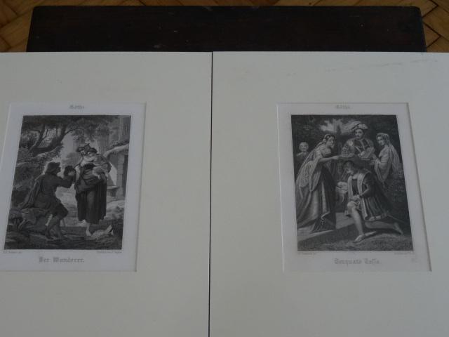 1,Torquato Tasso. 2,Der Wanderer.: Goethe: