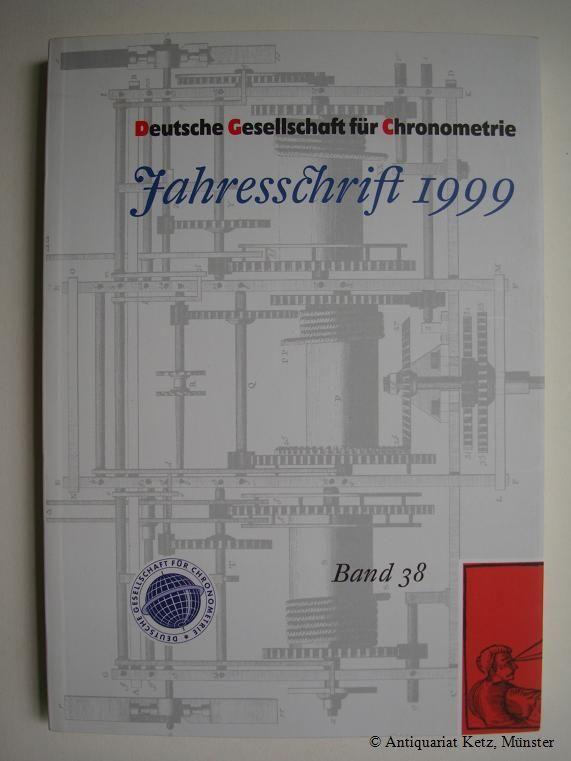 Jahresschrift 1999. Band 38.: Deutsche Gesellschaft für