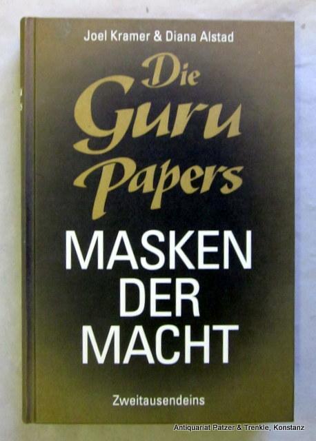 Die Guru Papers. Masken der Macht. Deutsch: Kramer, Joel u.