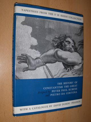 TAPESTRIES - THE HISTORY OF CONSTANTINE THE: Dubon, David and