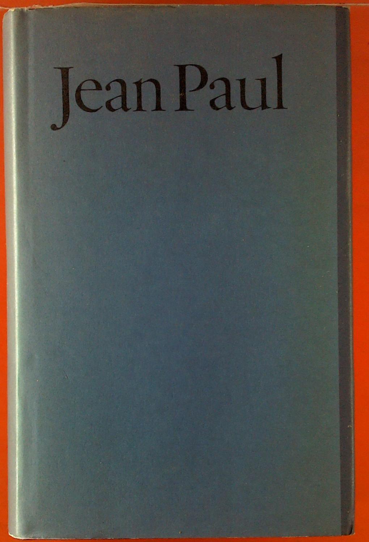 Jean Paul - Werke in drei Bänden.: Hrsg. Norbert Miller
