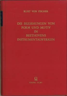 Die Beziehungen von Form und Motiv in: Fischer, Kurt von: