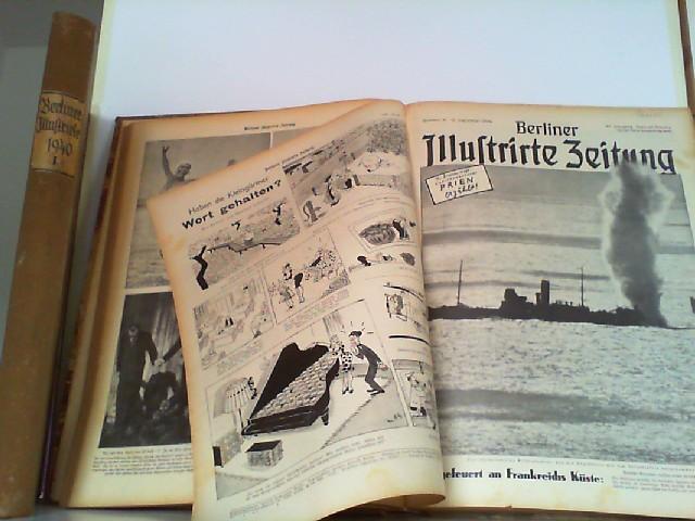 Illustrierte Wochenzeitschrift. Hier 49. Jahrgang 1940 Nummer: Berliner Illustrierte Zeitung:
