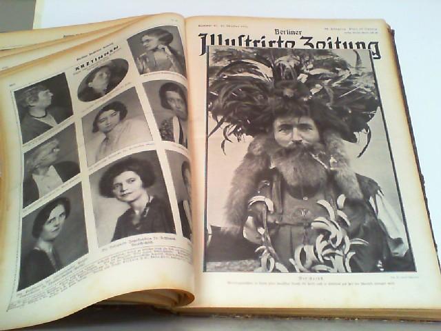 Illustrierte Wochenzeitschrift. Hier 40. Jahrgang 1931 Nummer: Berliner Illustrierte Zeitung: