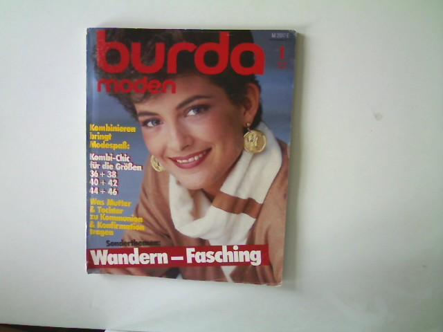 Burda Moden - Ausgabe 1 Januar 1984,: Autorenkollektiv: