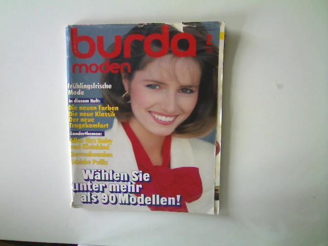 Burda Moden - Ausgabe 2 Februar 1984,: Autorenkollektiv: