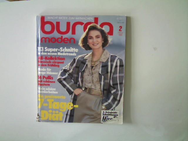 Burda Moden, Ausgabe 2, Februar 1986, Die: Autorenkollektiv: