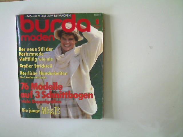 Burda Moden - Ausgabe 9 September 1984,: Autorenkollektiv: