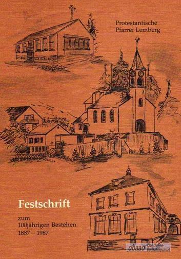 Festschrift zum 100jährigen Bestehen der Protestantischen Pfarrei: Karl Ziegler