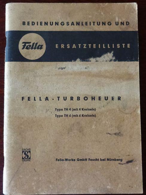 Fella-Turboheuer Type TH 4 (mit 4 Kreiseln): Fella-Werke: