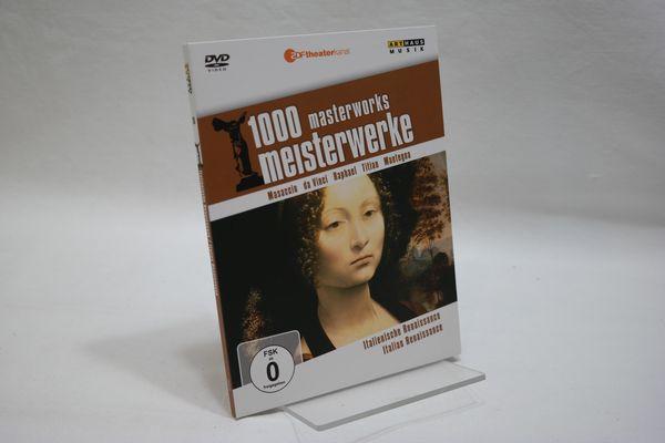 1000 Masterworks Meisterwerke Nr. 15: Italienische Renaissance, 1 DVD. - Moritz, Reiner E.