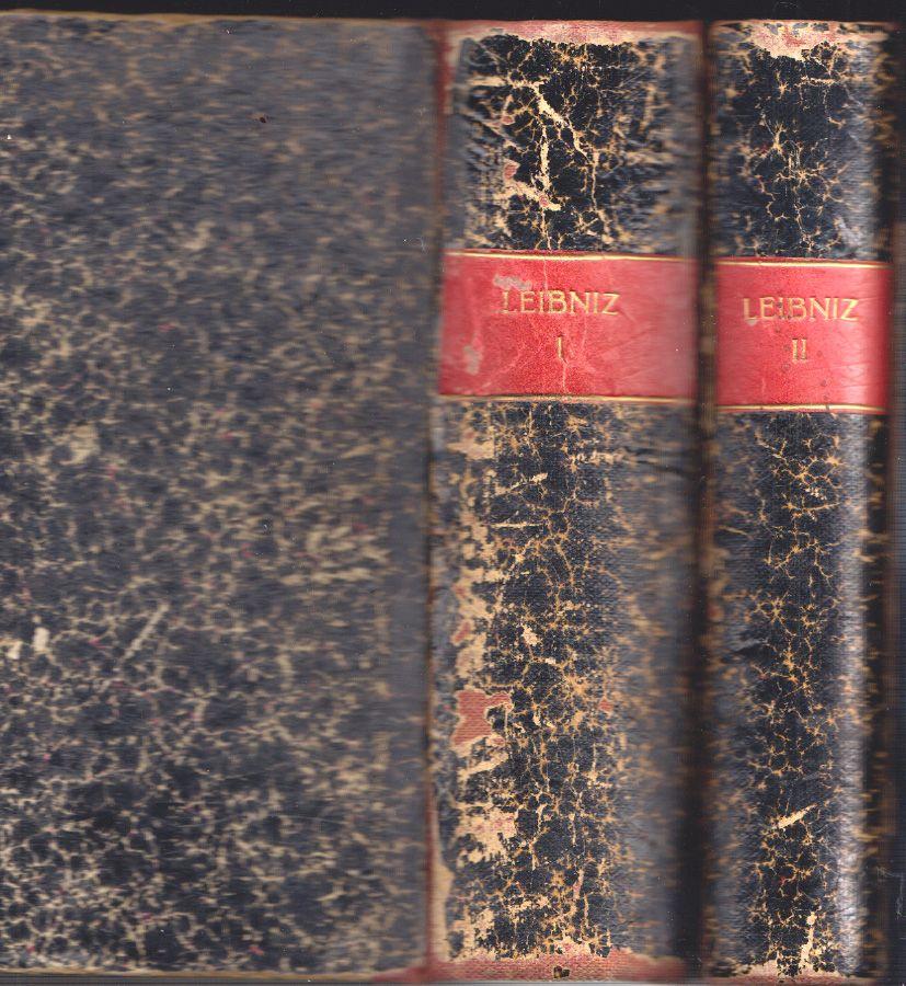 Oeuvres Philosophiques de Leibniz. Avec une introduction: LEIBNIZ, (Gottfried Wilhelm).