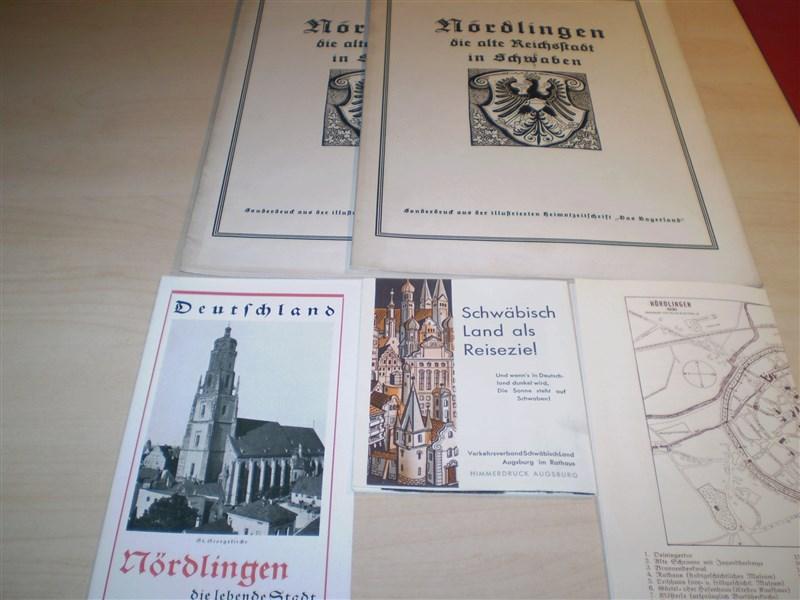 NÖRDLINGEN. Die alte Reichsstadt in Schwaben. Sonderdruck: nördlingen.