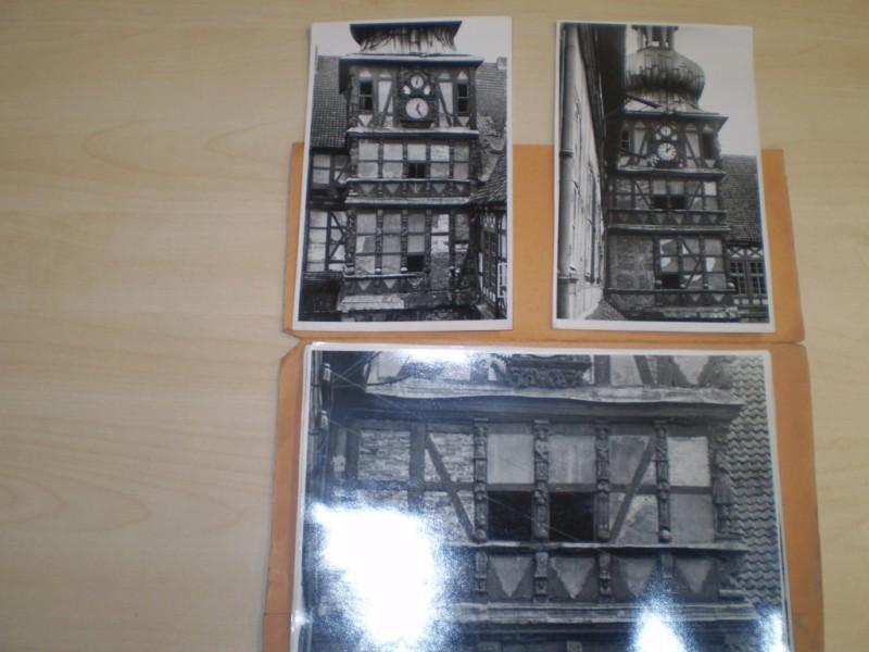 Der Uhrturm. 8 Original-Photographien des Uhrturms (6: Herzberg am Harz.