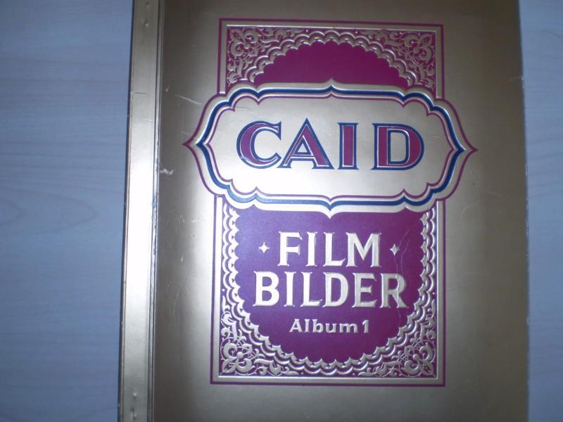 FILMBILDER ALBUM 1. mit 360 farbig kollorierten: Caid.
