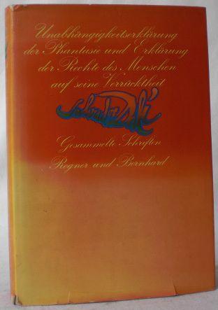 Unabhängigkeitserklärung der Phantasie und Erklärung der Rechte: Dali, Salvador