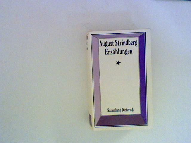 Erzählungen Herausgegeben und eingeleitet von Leopold Magon.: Strindberg, August: