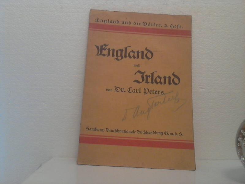 England und Irland. /(= England und die: Peters, Carl;