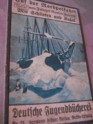 Auf der Nordpolfahrt I. Mit Schlitten und: Nansen, Fridtjof: