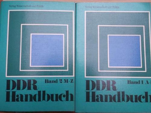 DDR-Handbuch / Vollständig Band 1: A-L und: Zimmermann, Hartmut [Hrsg.]