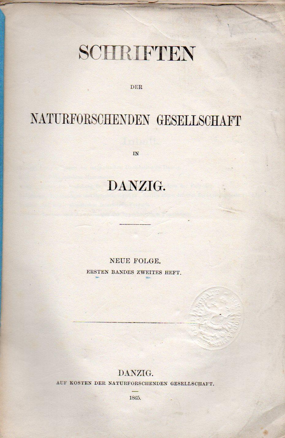 Beobachtungen der magnetischen Declination in Danzing: Kayser,E.