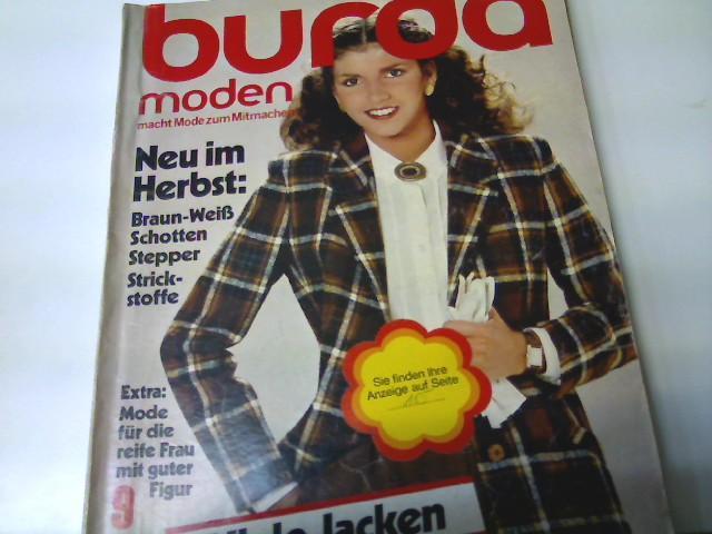 Burda Moden, Ausgabe Nr. 9/ 1980 -: Autorenkollektiv: