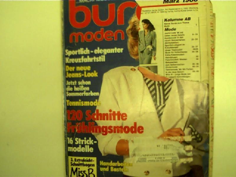 Burda Moden, Ausgabe Nr. 3/ 1980 -: Autorenkollektiv: