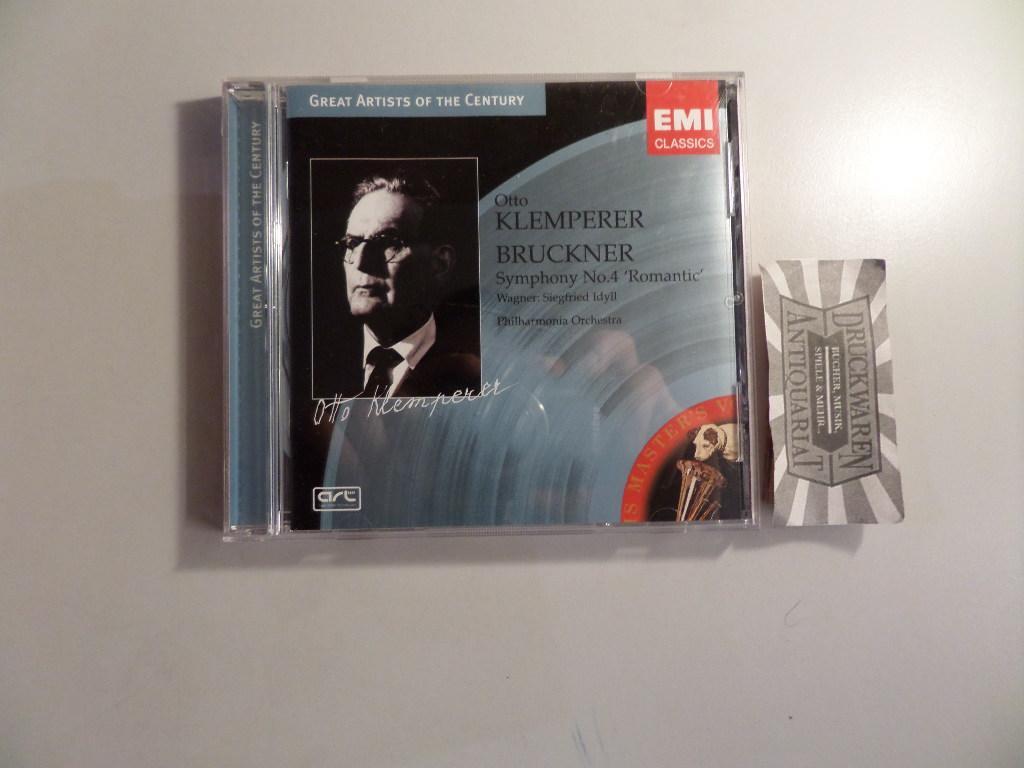 "Bruckner : Sinfonie Nr. 4 ""Romantic"" /: Klemperer, Otto [Dirigent],"