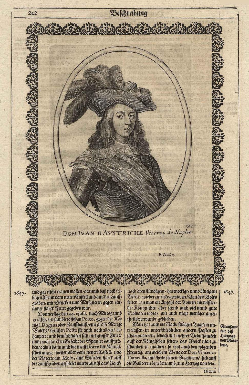 Juan José de Austria, dt. Johann Joseph: JUAN de Austria