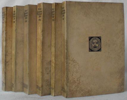 Gesammelte Werke in sechs Bänden.: Hauptmann, Gerhart