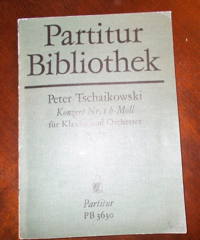 Konzert Nr. 1 b-Moll für Klavier und: Peter Tschaikowski