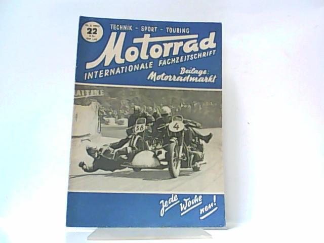 Motorrad. 5. Jahrgang, Heft 22. / 31.: Ibera Verlags Ges.
