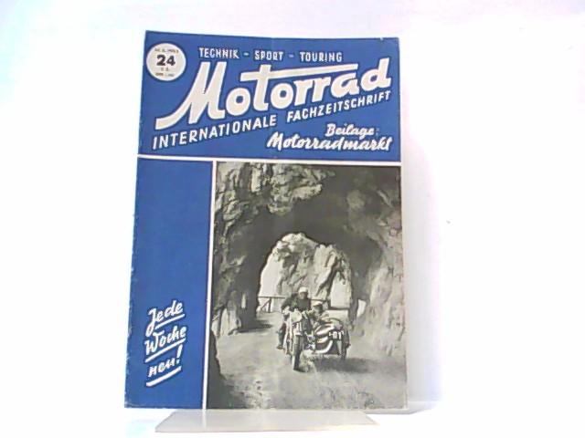 Motorrad. 5. Jahrgang, Heft 24. / 14.: Ibera Verlags Ges.