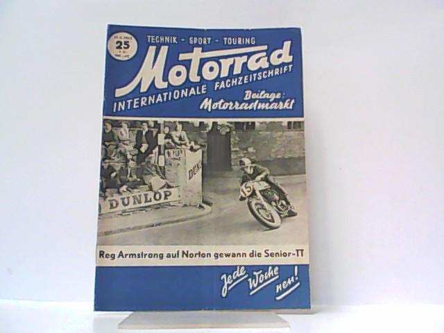 Motorrad. 5. Jahrgang, Heft 25. / 21.: Ibera Verlags Ges.