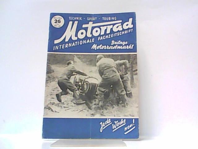 Motorrad. 5. Jahrgang, Heft 26. / 28.: Ibera Verlags Ges.