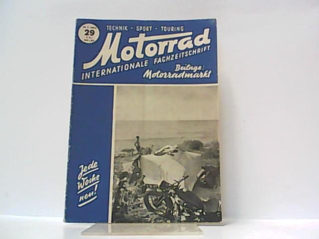 Motorrad. 5. Jahrgang, Heft 29. / 19.: Ibera Verlags Ges.