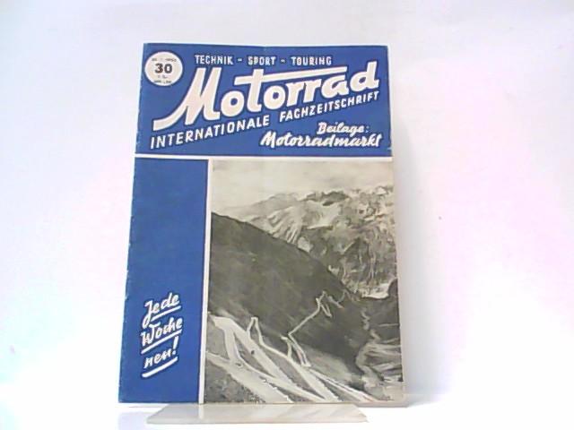 Motorrad. 5. Jahrgang, Heft 30. / 26.: Ibera Verlags Ges.