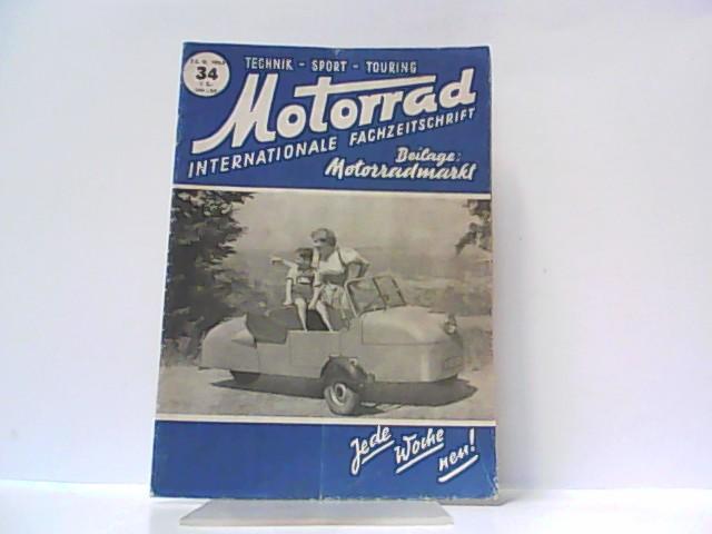 Motorrad. 5. Jahrgang, Heft 34. / 23.: Ibera Verlags Ges.