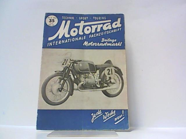 Motorrad. 5. Jahrgang, Heft 35. / 30.: Ibera Verlags Ges.