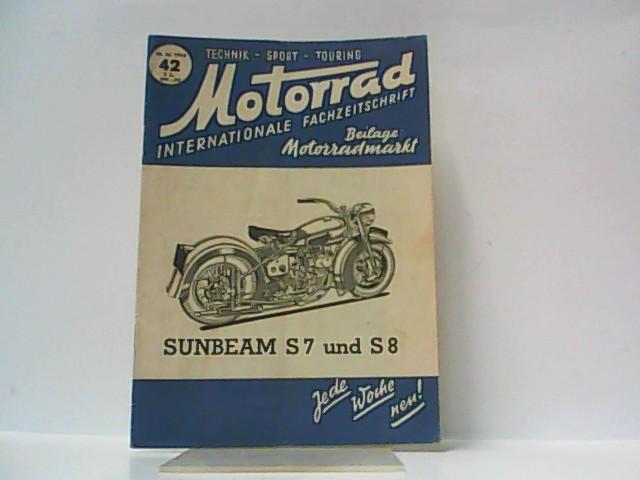 Motorrad. 5. Jahrgang, Heft 42. / 18.: Ibera Verlags Ges.