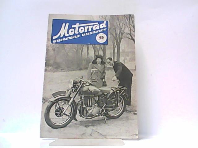 Motorrad. 5. Jahrgang, Heft 45. / 08.: Ibera Verlags Ges.