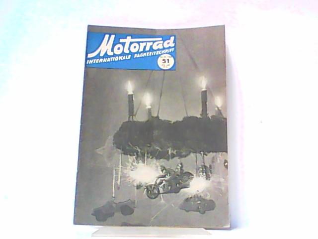 Motorrad. 5. Jahrgang, Heft 51/217, 20.12.1952. Internationale: Ibera Verlags Ges.