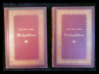Perspektiven. Vermischte Schriften. 2 Bände: Schack, Adolf Friedrich