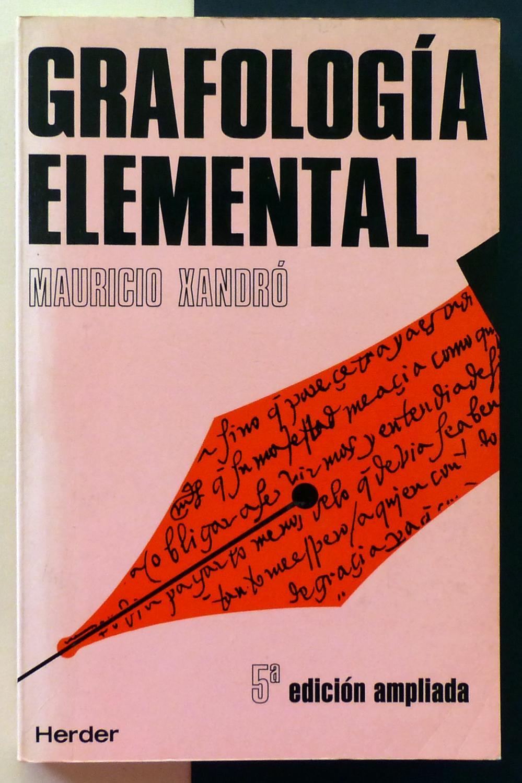Grafología Elemental. PDF