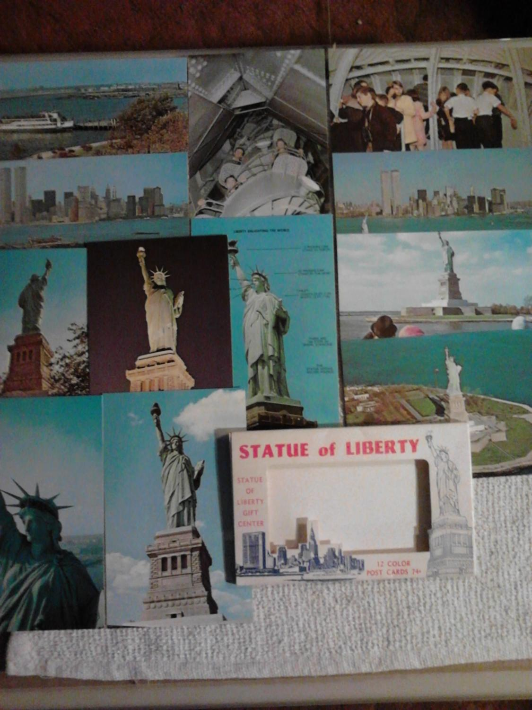 Statue of Liberty Stationery Set
