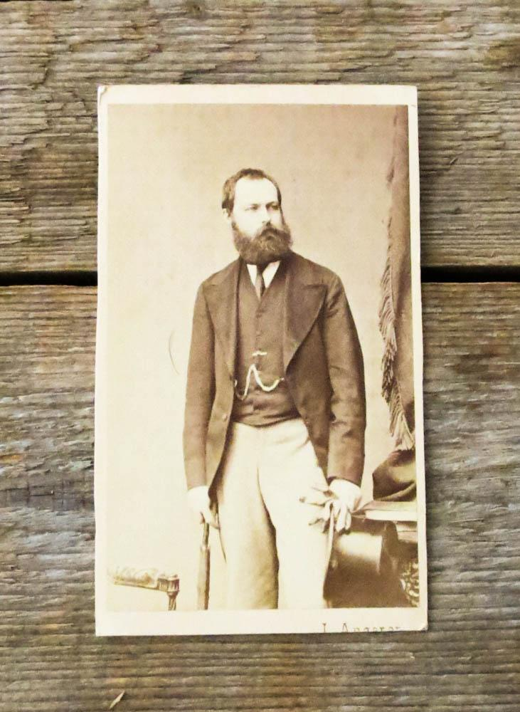 Original-Photographie von L. Angerer. Graf von Paris.: Louis Philippe Albert