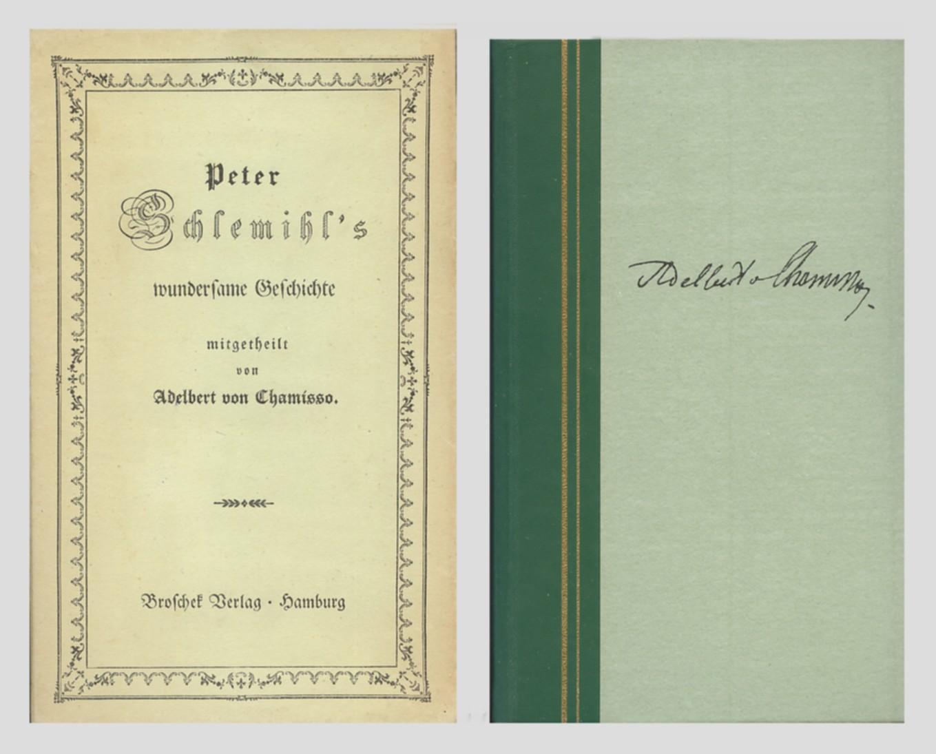 Peter Schlemihl's wundersame Geschichte. Mit neun Lichtdrucken: Chamisso, Adelbert v.