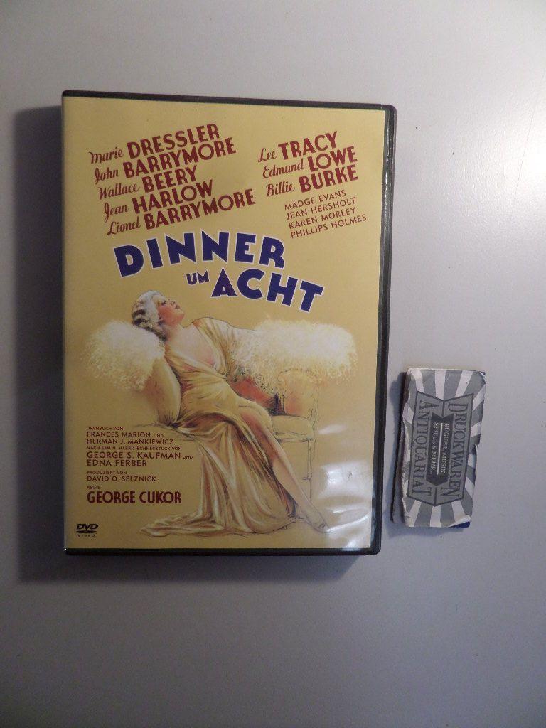 Dinner um Acht [DVD].: Cukor, George [Regie],